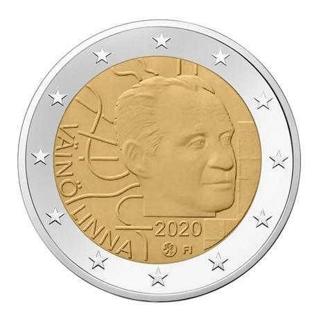 2 euro commémorative Finlande 2020 - Väinö Linna