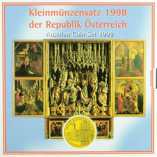 BU coin set Austria 1998 (zoom)