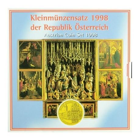 Coffret BU Autriche 1998