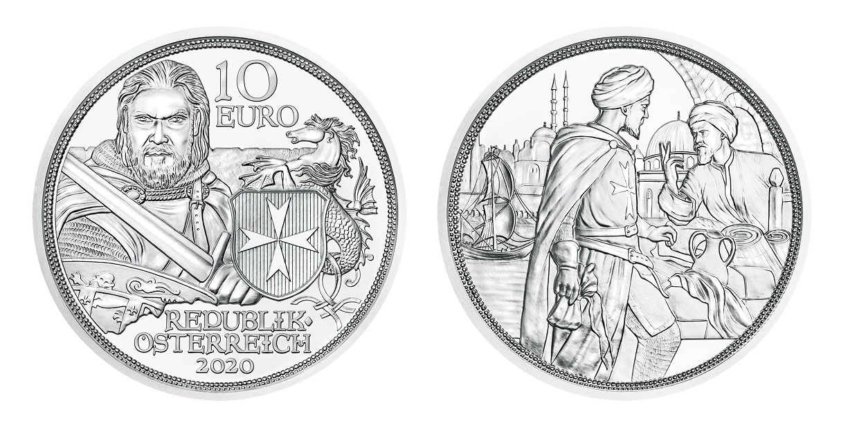 (EUR01.ComBU&BE.2020.24605) 10 euro Austria 2020 Brilliant Uncirculated Silver - Fortitude (zoom)