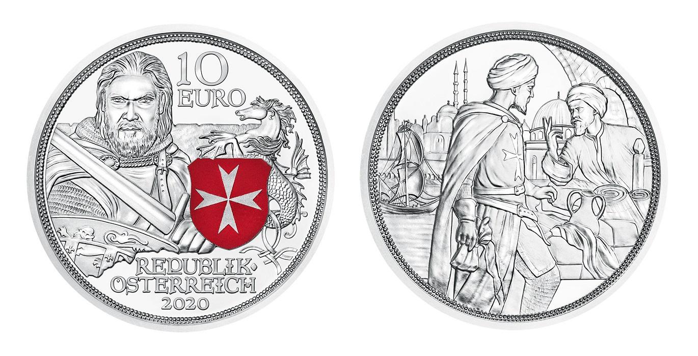(EUR01.ComBU&BE.2020.24606) 10 euro Austria 2020 Proof silver - Fortitude (zoom)
