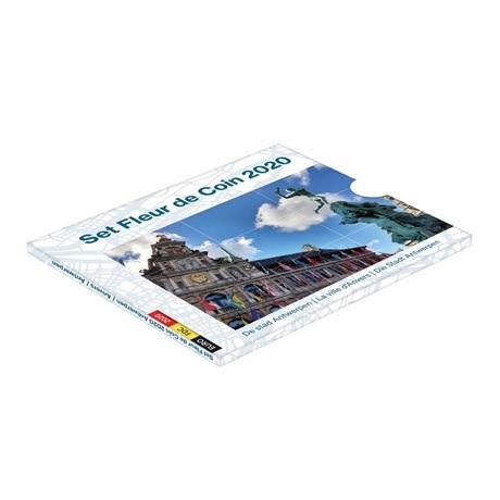 (EUR02.CofBU&FDC.2020.Cof-BU) Coffret BU Belgique 2020 (Anvers)