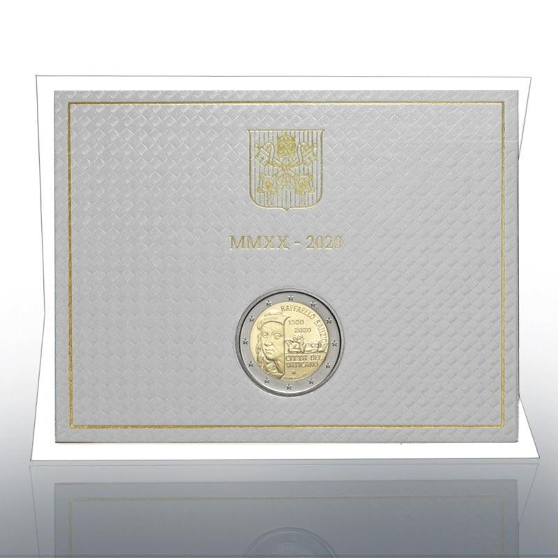 (EUR19.ComBU&BE.2020.CN1547) 2 euro Vatican 2020 BU - Raffaello (zoom)