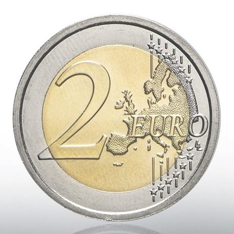 (EUR19.ComBU&BE.2020.CN1547) 2 euro commémorative Vatican 2020 BU - Raphaël Revers