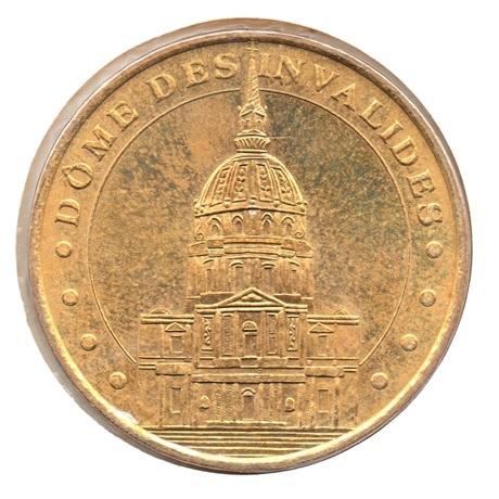 (FMED.Méd.tourist.2007.CuAlNi.1.7.27.sup.spl.000000001) Dôme des Invalides Avers