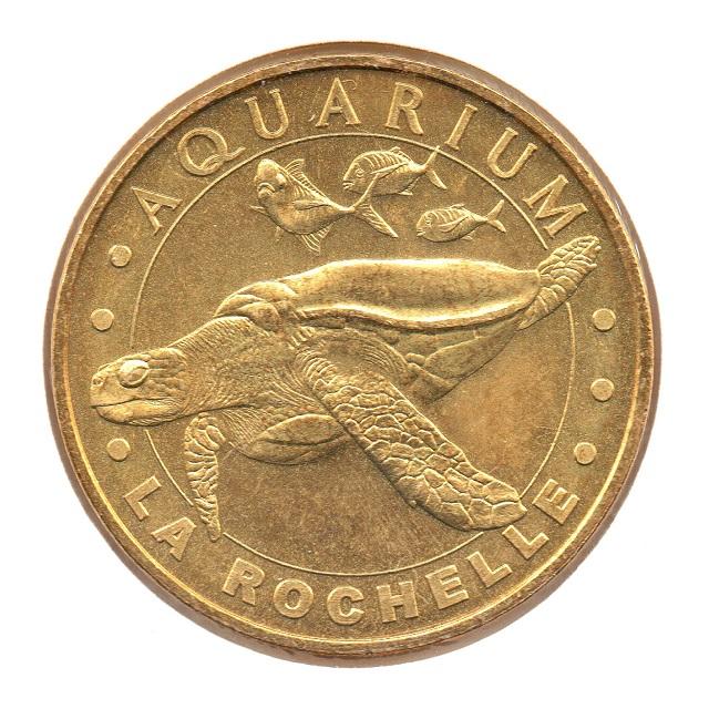 (FMED.Méd.tourist.2007.CuAlNi.15.-11.sup.spl.000000001) Hawksbill sea turtle Obverse (zoom)
