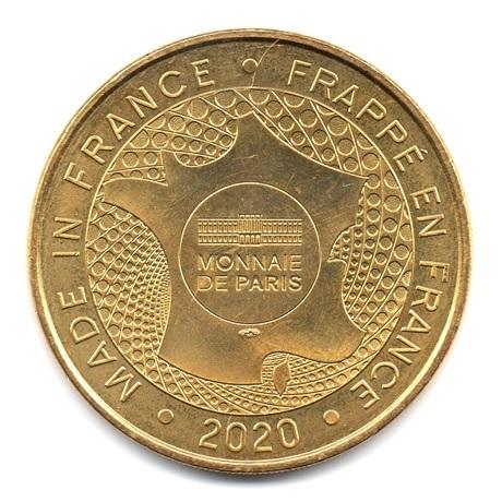 (FMED.Méd.tourist.2020.CuAlNi.33.sup.spl.000000001) Monnaie de Paris Revers