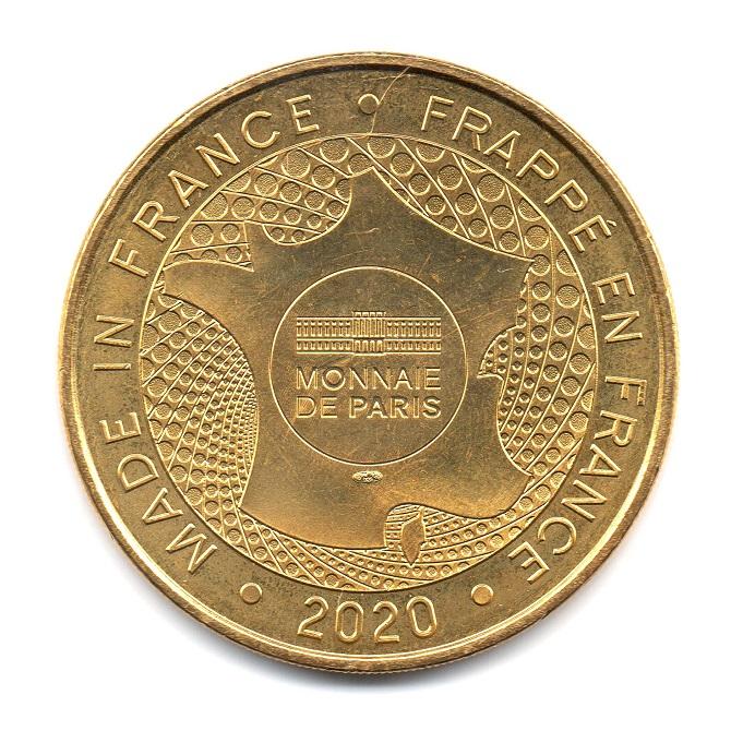 (FMED.Méd.tourist.2020.CuAlNi.33.sup.spl.000000001) Monnaie de Paris Reverse (zoom)