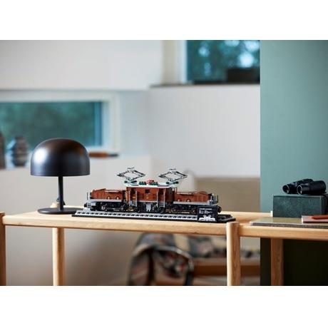 (Lego.Creator.10277) LEGO Creator - La locomotive crocodile (exposée)