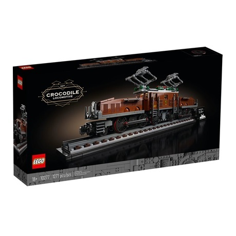 (Lego.Creator.10277) LEGO Creator - La locomotive crocodile (recto boîte)