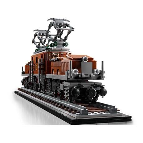 (Lego.Creator.10277) LEGO Creator - La locomotive crocodile (trois-quarts droit)