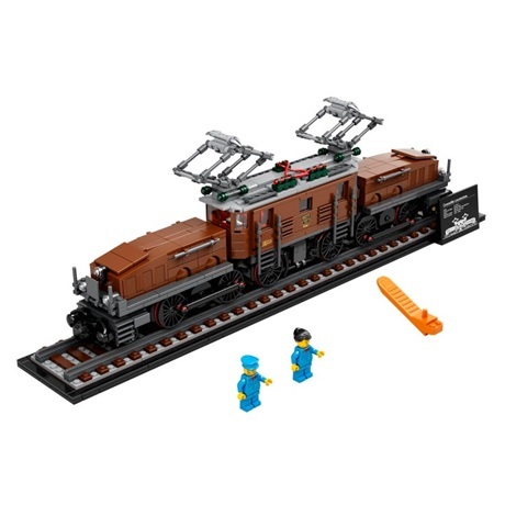 (Lego.Creator.10277) LEGO Creator - La locomotive crocodile