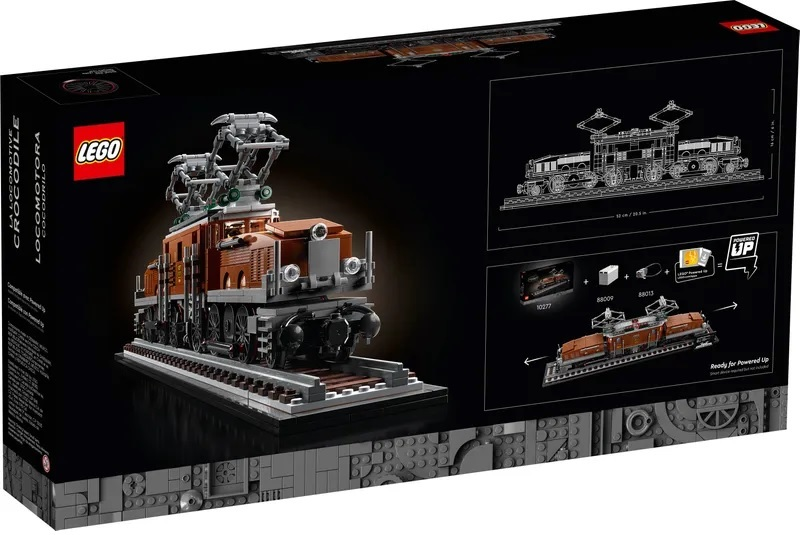 (Lego.Creator.10277) LEGO Creator - The Crocodile locomotive (box) (zoom)