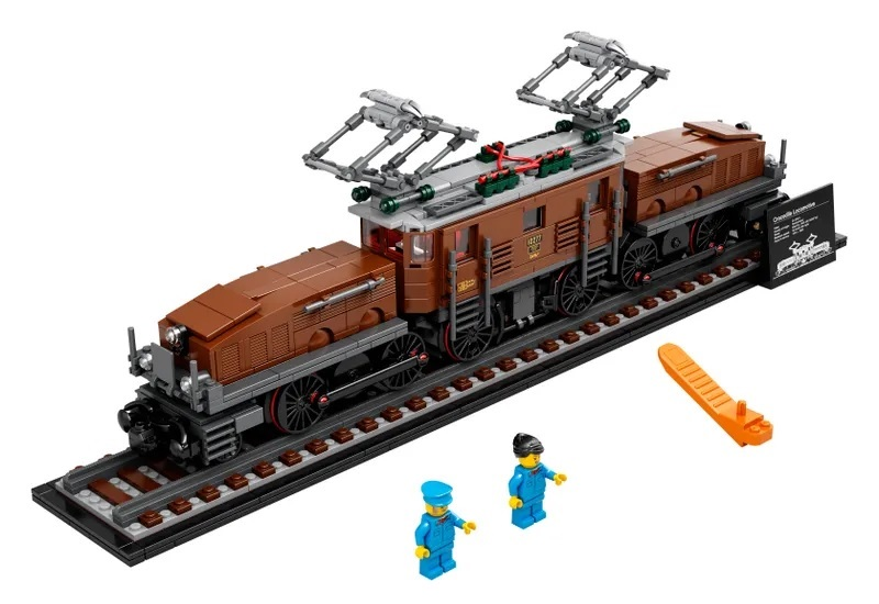 (Lego.Creator.10277) LEGO Creator - The Crocodile locomotive (zoom)