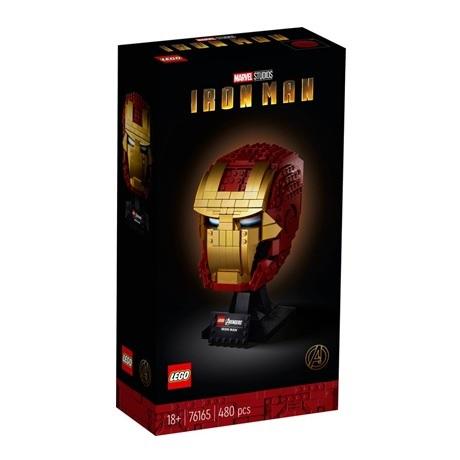 (Lego.Marvel.76165) LEGO Marvel - Casque d'Iron Man (recto boîte)
