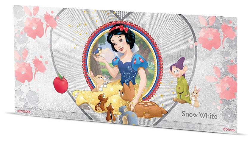 (W160.100.2018.30-00667) 1 Dollar Niue 2018 5 grams BU silver - Snow White Reverse (zoom)