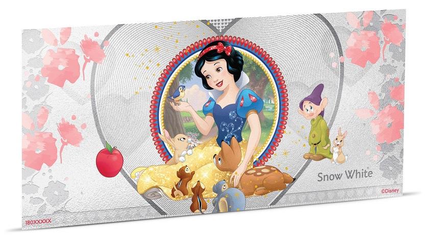 (W160.100.2018.30-00667) 1 Dollar Niue 2018 5 grams BU silver - Snow White (view on reverse) (zoom)