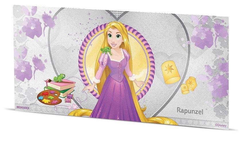 (W160.100.2018.30-00668) 1 Dollar Niue 2018 5 grams BU silver - Rapunzel Reverse (zoom)