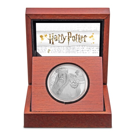 (W160.200.2020.1.ag.bullco.30-00954) 2 Dollars Niue 2020 1 once Ag BE - Albus Dumbledore (écrin)