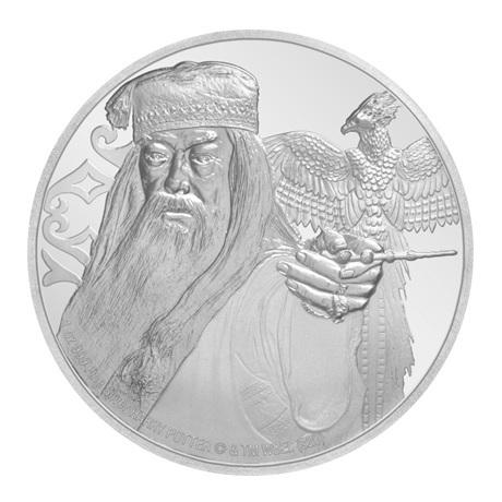 (W160.200.2020.1.ag.bullco.30-00954) 2 Dollars Niue 2020 1 once argent BE - Albus Dumbledore Revers