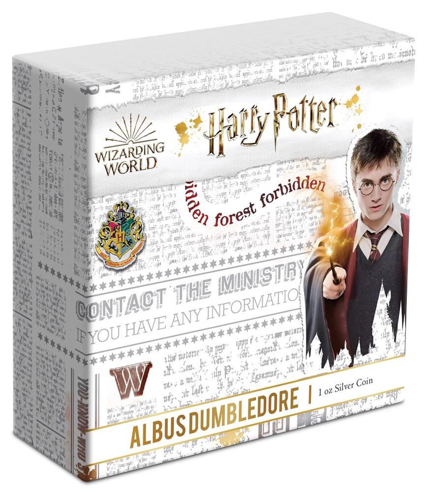(W160.200.2020.1.ag.bullco.30-00954) 2 Dollars Niue 2020 1 oz Proof silver - Albus Dumbledore (box) (zoom)