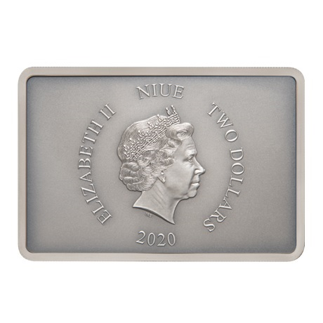 (W160.200.2020.30-00900) 2 Dollars Niue 2020 1 once argent BE - Stormtrooper Avers
