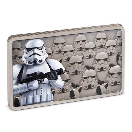 (W160.200.2020.30-00900) 2 Dollars Niue 2020 1 once argent BE - Stormtrooper (tranche)