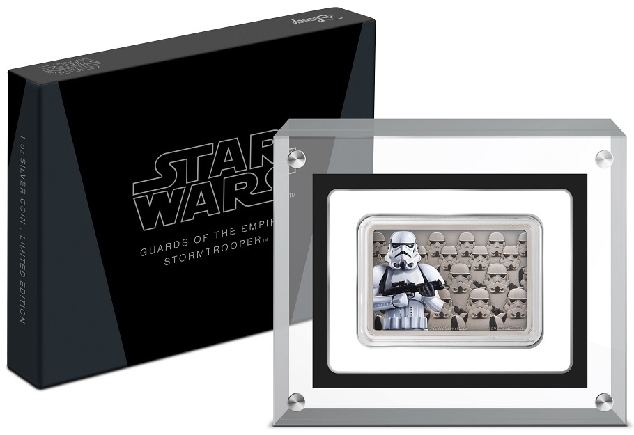 (W160.200.2020.30-00900) 2 Dollars Niue 2020 1 oz Proof Ag - Stormtrooper (base and box) (zoom)