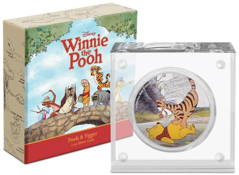 (W160.200.2020.30-00958) 2 Dollars Niue 2020 1 oz Proof silver - Pooh and Tigger (base and box) (zoom)