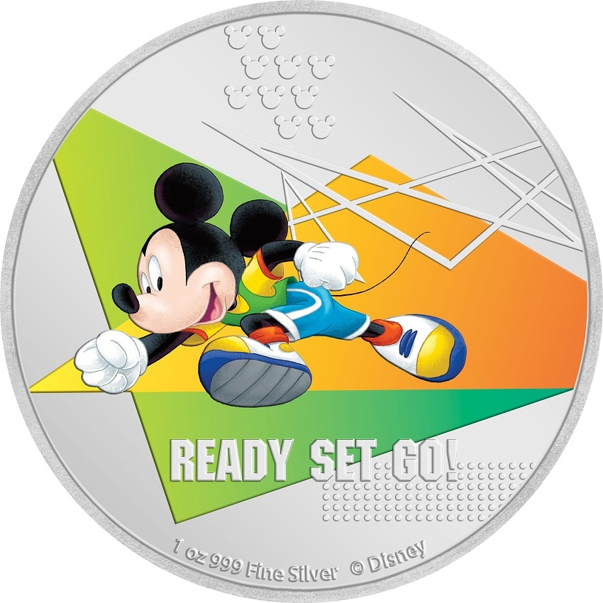 (W160.200.2020.30-00967) 2 Dollars Niue 2020 1 oz Proof silver - Ready, steady, go ! Reverse (zoom)