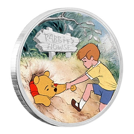 (W160.200.2020.30-01006) 2 Dollars Niue 2020 1 once argent BE - Winnie et Jean-Christophe (tranche)