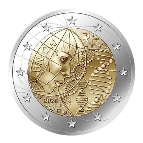 2 euro commémorative France 2020 - Recherche médicale