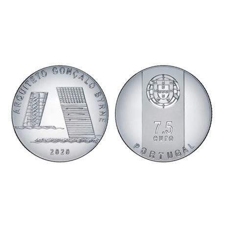 7,5 euro Portugal 2020 argent - Gonçalo Byrne