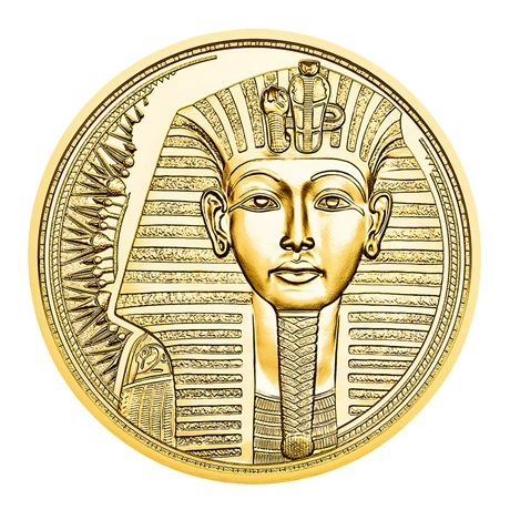 (EUR01.ComBU&BE.2020.10000.BE.24609) 100 euro Autriche 2020 or BE - Or des pharaons Revers