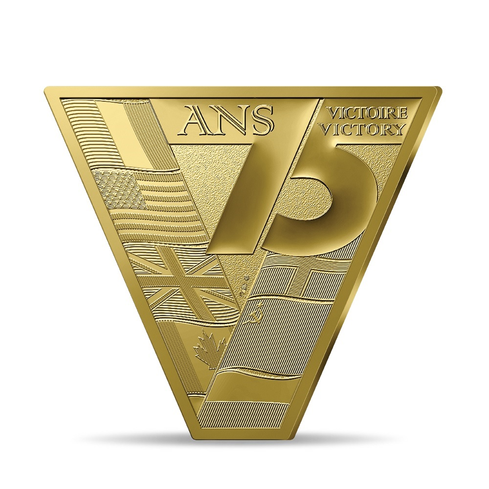 (EUR07.ComBU&BE.2020.10041343950000) 200 euro France 2020 Proof gold - Victory and peace Reverse (zoom)