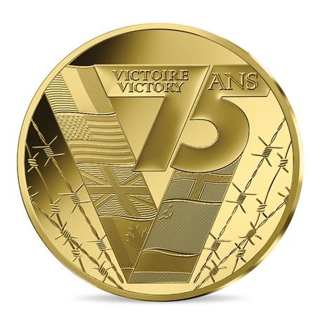 (EUR07.ComBU&BE.2020.10041343960000) 50 euro France 2020 or BE - Victoire et paix Revers