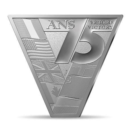 (EUR07.ComBU&BE.2020.10041343970000) 10 euro France 2020 argent BE - Victoire et paix Revers