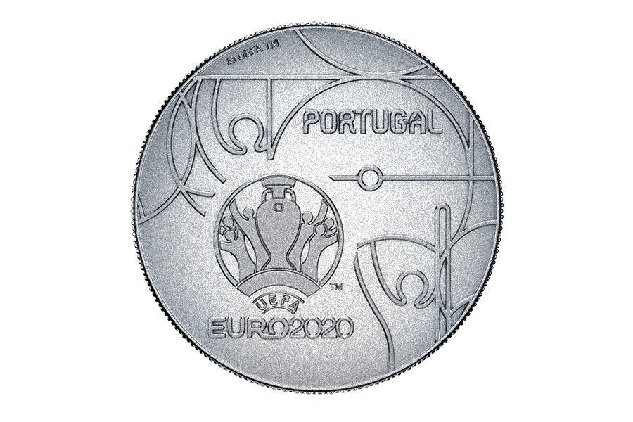 (EUR15.250.2020.12500513) 2.50 euro Portugal 2020 - UEFA Euro 2020 Reverse (zoom)