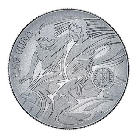 (EUR15.250.2020.12500513) 2,50 euro Portugal 2020 - UEFA Avers