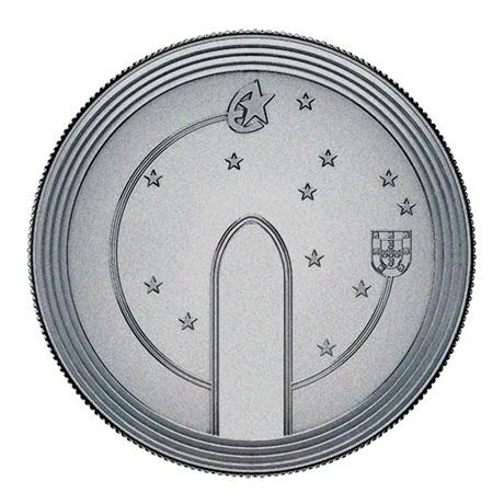 (EUR15.500.2020.12500510) 5 euro Portugal 2020 - Europa (Gothique) Revers