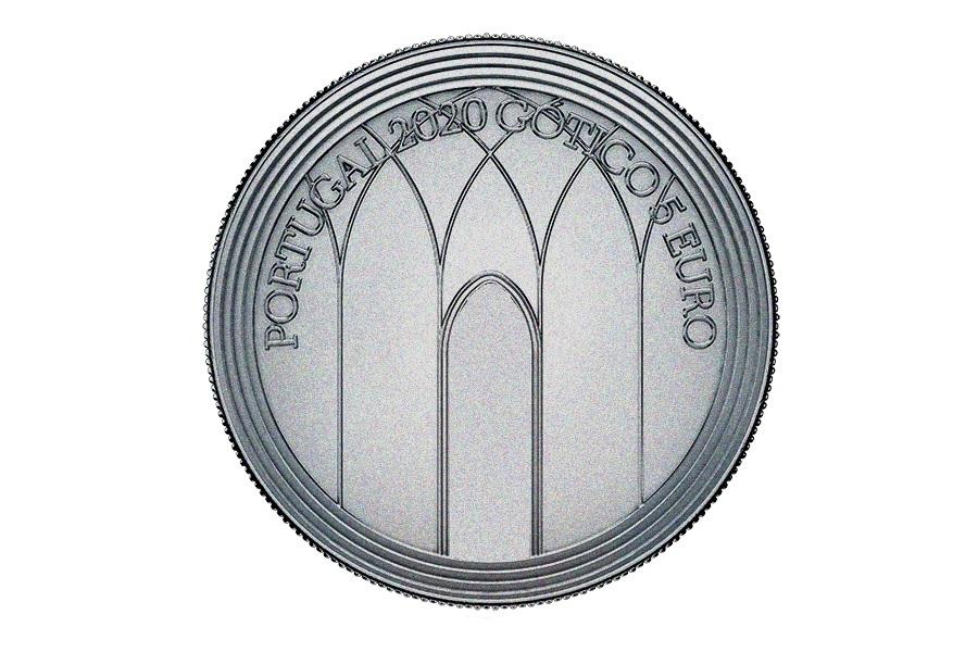 (EUR15.500.2020.12500510) 5 euro Portugal 2020 - Europa (The Gothic) Obverse (zoom)