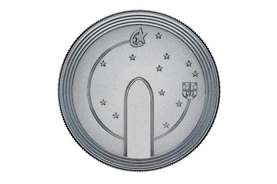 (EUR15.500.2020.12500510) 5 euro Portugal 2020 - Europa (The Gothic) Reverse (zoom)