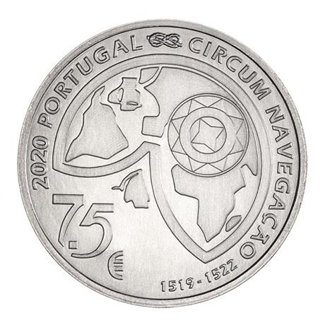 (EUR15.750.2020.12500507) 7,5 euro Portugal 2020 - Détroit de Magellan Avers