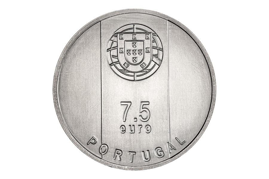 (EUR15.750.2020.12500509) 7.5 euro Portugal 2020 - Gonçalo Byrne Obverse (zoom)