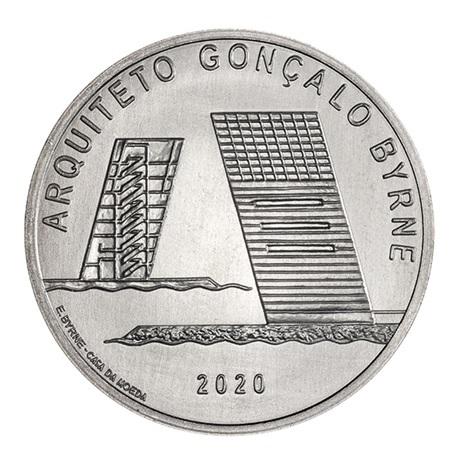 (EUR15.750.2020.12500509) 7,5 euro Portugal 2020 - Gonçalo Byrne Revers