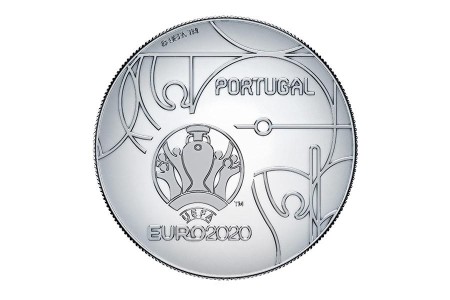 (EUR15.ComBU&BE.2020.1022082) 2.50 euro Portugal 2020 Proof silver - UEFA Euro 2020 Reverse (zoom)