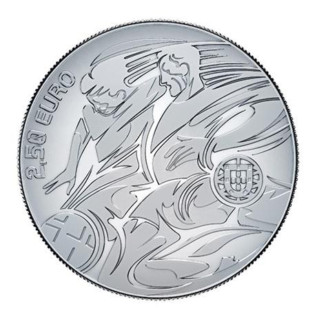 (EUR15.ComBU&BE.2020.1022082) 2,50 euro Portugal 2020 argent BE - UEFA Avers