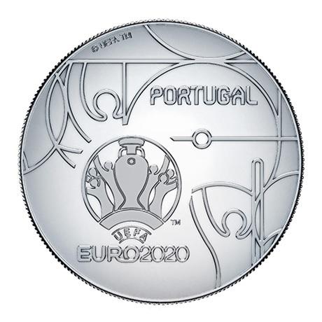 (EUR15.ComBU&BE.2020.1022082) 2,50 euro Portugal 2020 argent BE - UEFA Revers