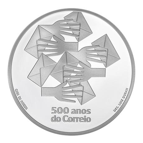 (EUR15.ComBU&BE.2020.1022796) 5 euro Portugal 2020 argent BE - Bureau de Poste Revers