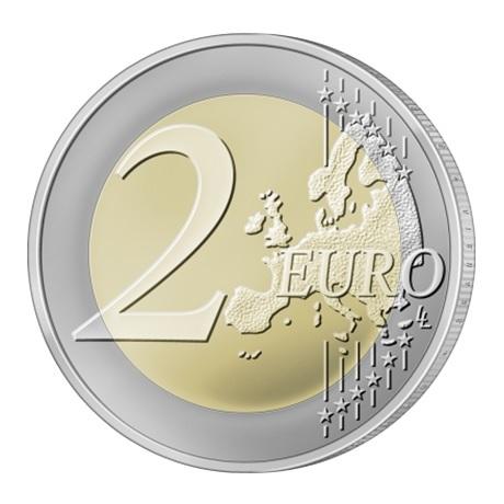 (EUR22.200.2020.COM2) 2 euro commémorative Lituanie 2020 - Colline des Croix Revers